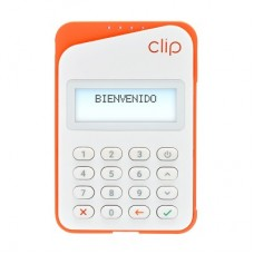 Dispositivo para Cobro con Tarjeta CLIP PLUS 2.0 - Teclado numérico, Naranja
