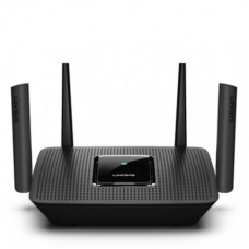 Router Tri-Banda Max-Stream LINKSYS MR8300 - 867 Mbit/s, Tribanda, 2, 4 GHz/5 GHz/5 GHz), Externo, 4, Negro