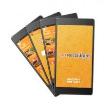 Paquete con 4 tablets Soft Restaurant Movil NATIONALSOFT PROM-SR-MOVIL2+4TB7 - Punto de venta, Soft Restaurant PRO, 1 licencia