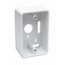 CAJA DE PARED BLANCA PARA CABLE DE RED RJ45 UTP INTELLINET 4.80CM PROFUNDIDAD