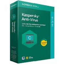 KASPERSKY ANTI-VIRUS / 10 USUARIOS / 1 AÃ?O / CAJA