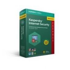 KASPERSKY INTERNET SECURITY - MULTIDISPOSITIVOS / 3 USUARIOS / RENOVACION / 1 AÃ?O / CAJA