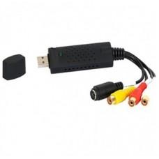 Convertidor USB a Video BROBOTIX - USB, RCA, Negro