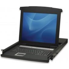 Consola KVM INTELLINET 506540 - 8, 8, 1280 x 1024 Pixeles, Windows, MacOs, Unix