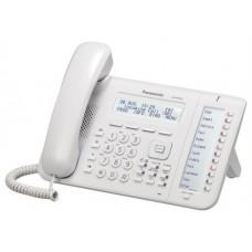 TELEFONO IP PROP. PANASONIC KX-NT553 3 LINEAS-LCD ALTAVOZ,  2 PTOS ETHERNET GB BLANCO