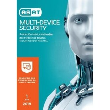 Antivirus ESET Multidevice Security - 3 licencias, 1 Año(s), Caja