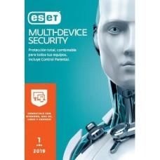 Antivirus ESET Multidevice Security - 5 licencias, 1 Año(s), Caja