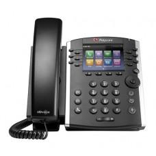 Teléfono VVX 411 IP de 12 líneas Vvx 411 ip POLYCOM 2200-48450-025 - Si, Si, TFT, 12 líneas, Negro