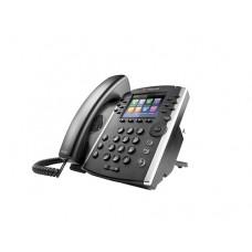 TELEFONO IP POLYCOM VVX 411 EDICION SKYPE FOR BUSINESS, POE, PARA 12 LINEAS,GIGABIT ETHERNET(NO INCLUYE FUENTE DE PODER)
