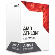 PROCESADOR AMD ATHLON 240GE S-AM4 35W 3.5 GHZ CACHE 5 MB 2CPU CORES / GRAFICOS RADEON VEGA 3GPU/ CON VENTILADOR /COMP. BASICO.