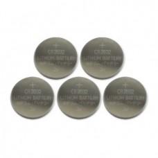Batería BROBOTIX BATERÍA CMOS CR2032 PAQUETE CON 5 PIEZAS - 5 piezas