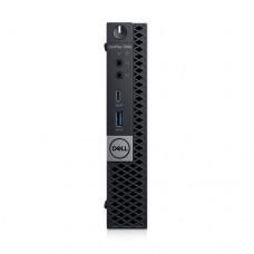 Dell OptiPlex 7060 - Micro - 1 x Core i7 8700T / 2.4 GHz - RAM 8 GB - SSD 256 GB - NVMe, Class 40 - UHD Graphics 630 - GigE - Win 10 Pro 64 bits - vPro - monitor: ninguno - teclado: español - BTS - con 3 años de ProSupport Plus con servicio in situ al sig