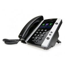 TELEFONO IP POLYCOM VVX 501 EDICION SKYPE FOR BUSINESS, POE, PARA 12 LINEAS,NO INCLUYE FUENTE DE PODER