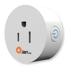 Enchufe Inteligente Qian SH1800 WIFI Dakai - Inalámbrico, Wi-Fi, Interior, Blanco