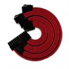 Cable Extención Yeyian Para Fuente de poder Kabel Serie 1000 - Fuente de Poder, Rojo