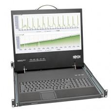 Consola con LCD TRIPP-LITE B021-000-19-SH para Instalación en 1U de Rack de 19