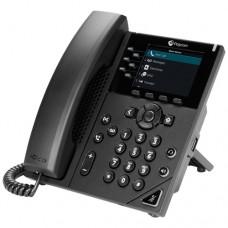 Teléfono Polycom VVX 350  POLYCOM 2200-48830-025 - Si, Si, LCD, 6 líneas