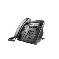 PLCM VVX 301 6-LINE DESKTOP PHONE WITH HD VOICE  POE.