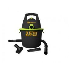 Aspiradora 2.5 Galones KOBLENZ WD-2.5 K - Seco-Mojado, Negro y verde
