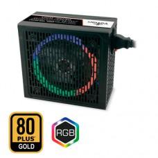 Fuente De Poder YEYIAN YFR-46701 RAIDEN 850W 80 Plus GOLD RGB ATX Full Modular -