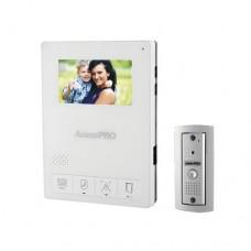 AccessPRO TV-PRO-400AW sistema de intercomunicación de video 10.9 cm (4.3