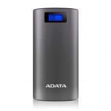 ADATA P20000D batería externa Gris Ión de litio 20000 mAh