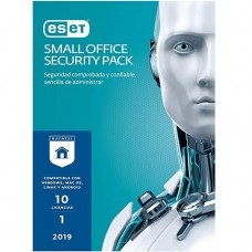 ESET SMALL OFFICE SECURITY PACK 10 LIC V2019 1YR (SO1019)