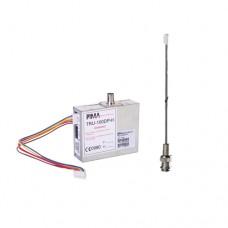 Kit de Comunicador Radio UHF con Antena, para paneles de Alarma, hasta 30Kms de Alcance. Frecuencia de 470 - 500 MHz. Compatible con Paneles de Alarma Serie Hunter e interfaces SAT9PID. Potencia de 2.5W.