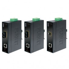 Convertidor. Medios industrial administrable. Gigabit SFP / TP.