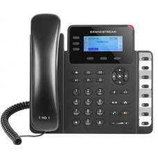 Teléfono IP SMB de 3 líneas con 3 teclas de función, 8 teclas de extensión BLF y conferencia de 4 vías, PoE