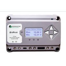 Controlador solar 12/24 Vcd   de 20 Amp. Sin pantalla de medición.
