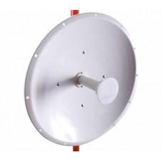 Antena Direccional de 2 ft, 4.9-6.2 GHz, Ganancia 30 dBi con SLANT de 45  y 90 , Conectores N-hembra, montaje incluido.