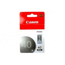 Cartucho CANON PG-40 BK - Negro, Inyección de tinta, Canon
