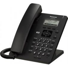 TELEFONO IP SIP BASICO PANTALLA 2.3 LCD INCLUYE ADAPTADOR AC NO POE 1 PTO LAN NEGRO