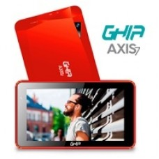 Ghia AXIS7 T7718N tableta A64 8 GB Rojo