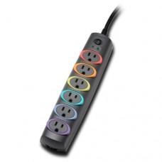 Kensington SmartSockets Premium - Protector contra sobretensiones - conectores de salida: 6 - Norteamérica - gris