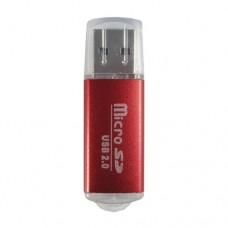 Data Components 345673R lector de tarjeta Rojo USB 2.0