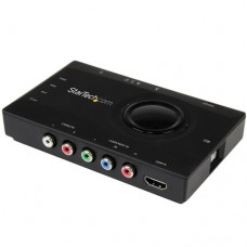 StarTech.com Capturadora Transmisora Autónoma de Vídeo USB 2.0 a HDMI o Vídeo por Componentes - Grabador de Vídeo HD 1080p