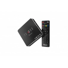 TV BOX Blackpcs EO104K-BL - Ethernet (RJ-45), WLAN, 3840 x 2160, Android 7.1, 1GB, 8GB