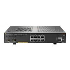 SWITCH HP ARUBA 2930F 8G POE 2SFP, 8 PUERTOS RJ45 10/100/1000 POE 125W Y 2 SFP 1/10GE ADMINISTRABLE CAPA 3 RIP, OSPF, ACLS, QOS