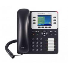TELFONO IP COLOR GIGABIT DE 3 LNEAS 3 CUENTAS SIP CON 4 TECLAS DE FUNCIN 8 TECLAS DE EXTENSIN BLF Y CONFERENCIA DE 4 VAS POE CON FUENTE DE ALIMENTACION INCLUIDA.