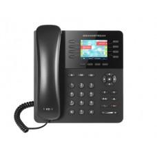 TELFONO IP COLOR GIGABIT CON 8 LNEAS 4 CUENTAS SIP Y 4 TECLAS DE FUNCIN CONFERENCIA DE 4 VASBLUETOOTHPOE Y FUENTE DE ALIMENTACION INCLUIDA.