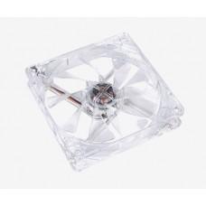 Ventilador THERMALTAKE CL-F019-PL12RE-A - Transparente, 93, 6 g, Ventilador, 19.5 dB, 1000 RPM