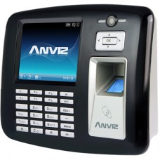 Anviz OA1000-Wifi Intelligent access control reader Negro, Plata
