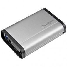 StarTech.com Capturadora de Vídeo USB 3.0 a DVI - 1080p 60fps - Aluminio