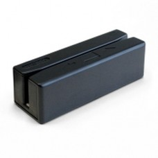 Unitech MS246 - Lector de tarjeta magnética (Pistas 1, 2 y 3) - USB - negro