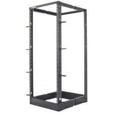 Intellinet 714259 estante 360 kg Rack o bastidor independiente 45U Negro