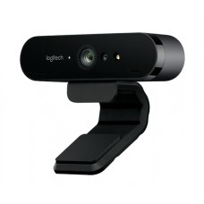 CAMARA WEB PARA VIDEO CONFERENCIAS LOGITECH BRIO PROFESIONAL PARA STREAMING 4K ULTRA HD