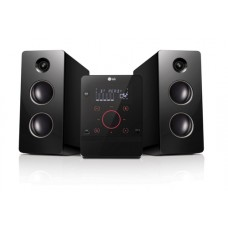 LG CM2760 sistema de audio para el hogar Microcadena de música para uso doméstico Negro 160 W
