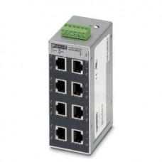 Phoenix FL SWITCH SFN 8TX-24VAC No administrado L2 Fast Ethernet (10/100) Negro